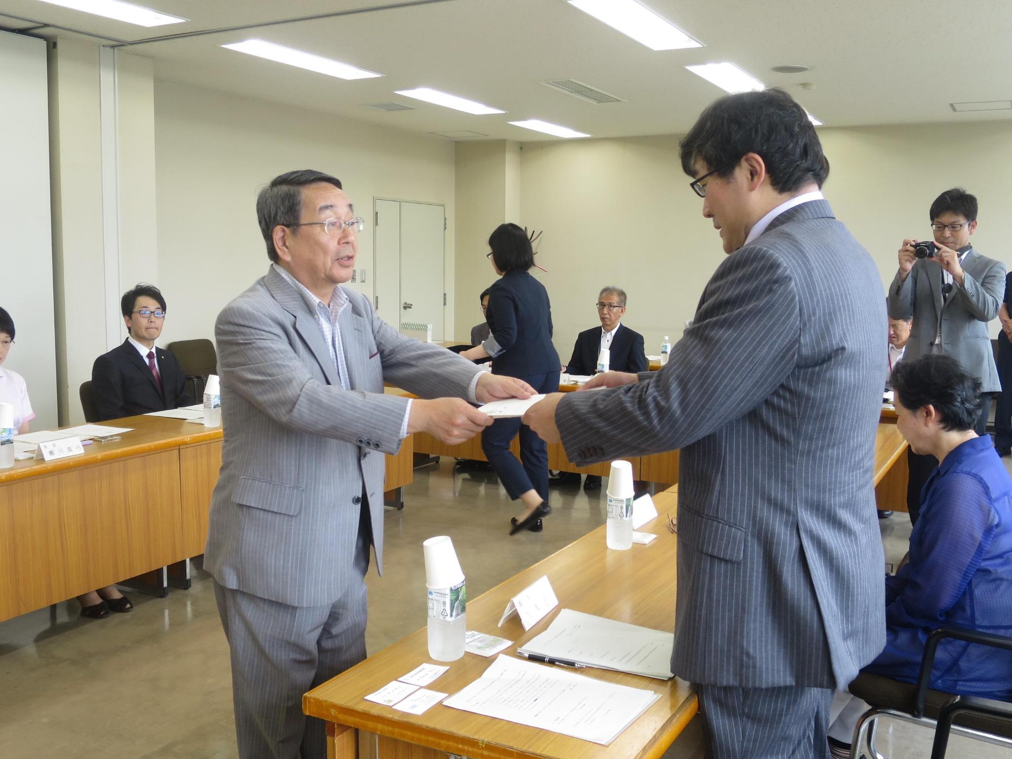 市長の公務日記(写真)(平成30年7月)